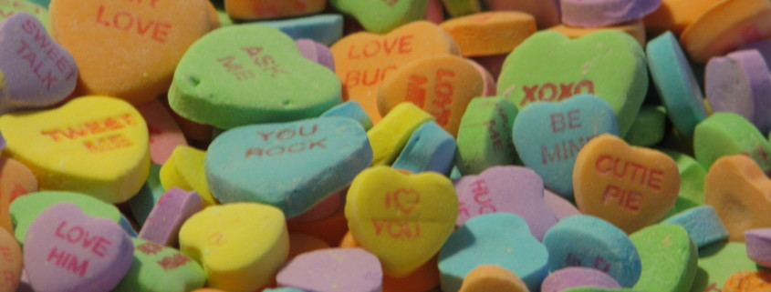 Candy-hearts